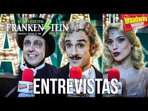 EL JOVENCITO FRANKENSTEIN - Entrevistas con el equipo