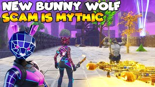 New Bunny Wolf Mythic Scam! 💯😱 (Scammer Gets Scammed) Fortnite Save The World