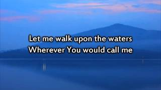 Hillsong - Oceans (Where Feet May Fail) - Instrumental with lyrics