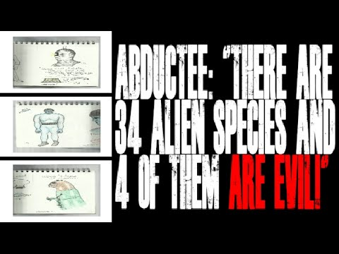 """UFO Abductee: """"There are Thirty-Four Alien Species and Four of them ARE EVIL!"""""""