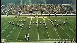 Ohio University Marching Band - 1971 Pregame