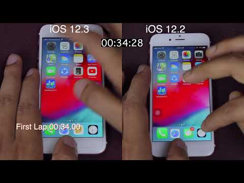 IOS 12.3 Vs IOS 12.2 Speed Test On IPhone 6s | ISuperTech