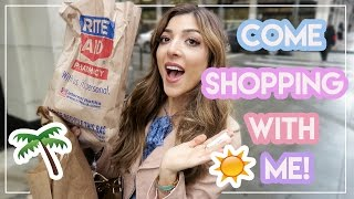 COME SHOPPING WITH ME! What's New @ The Drugstore! | Amelia Liana