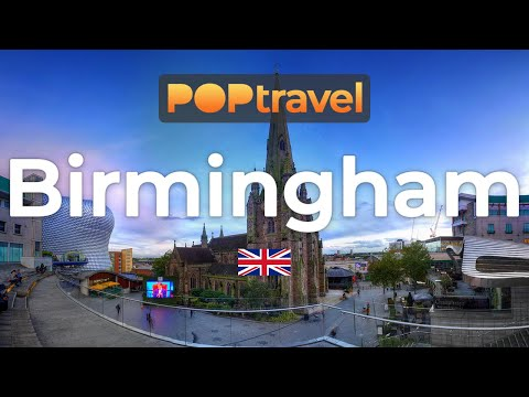 Walking in BIRMINGHAM / England (UK) 🇬🇧- 4K 60fps (UHD)