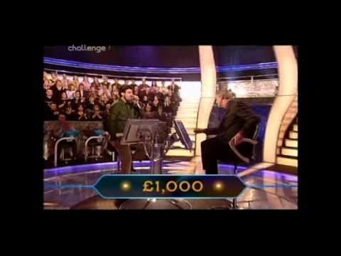 Who Wants to be a Millionaire 3rd February 2002