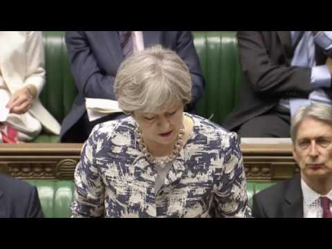 Theresa May: Brexit and European Council update