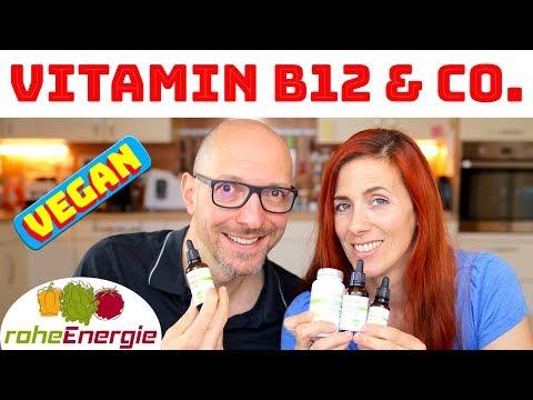 Vitamin B12 und andere wichtige Vitamine