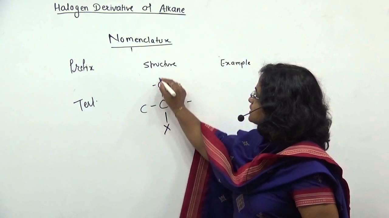HSC Chemistry Maharashtra Board ,MHT-CET std 12 : Halogen Derivatives of  Alkane Lecture 2