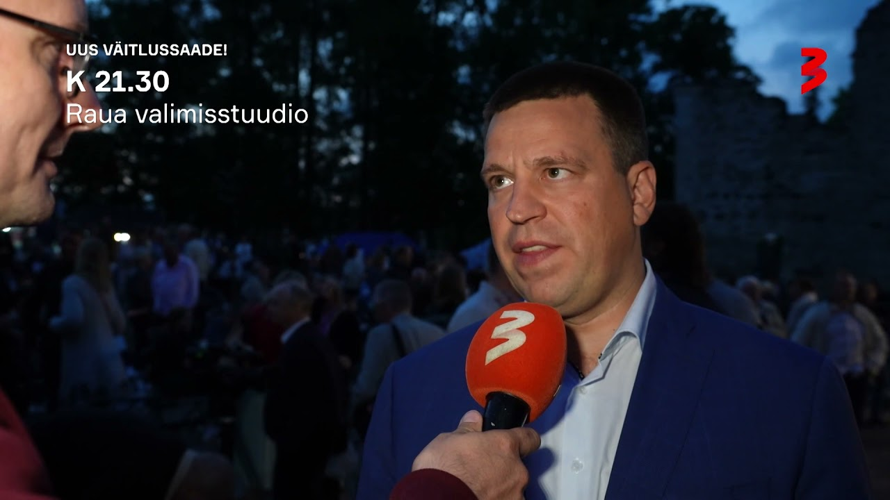 """UUS VÄITLUSSAADE! """"Raua valimisstuudio"""" Stardib K 22.00 TV3s!"""