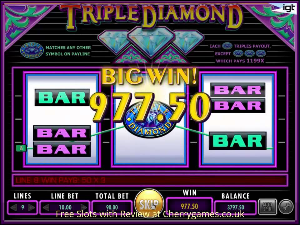Free Casino Games Triple Diamonds