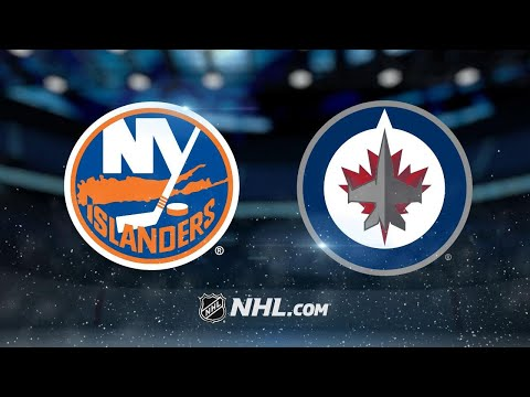 Hellebuyck makes 42 saves to lead Jets past Isles