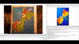 Уроки рисования пастелью Е. Хорошкина. Рыбки.