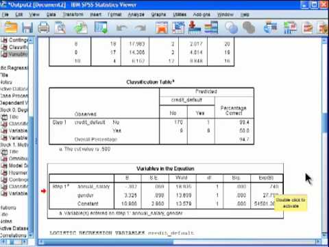 Dont have binary logistic option in spss