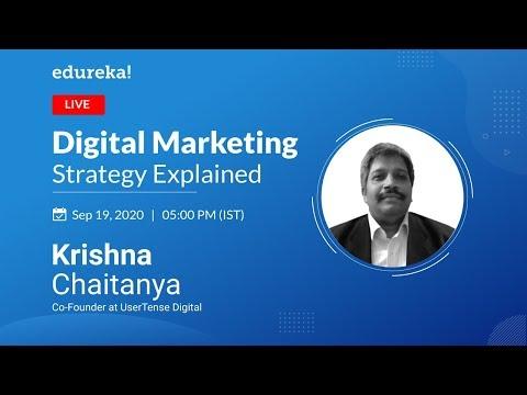 Digital Marketing Strategy | Digital Marketing Tutorial for Beginners | Edureka