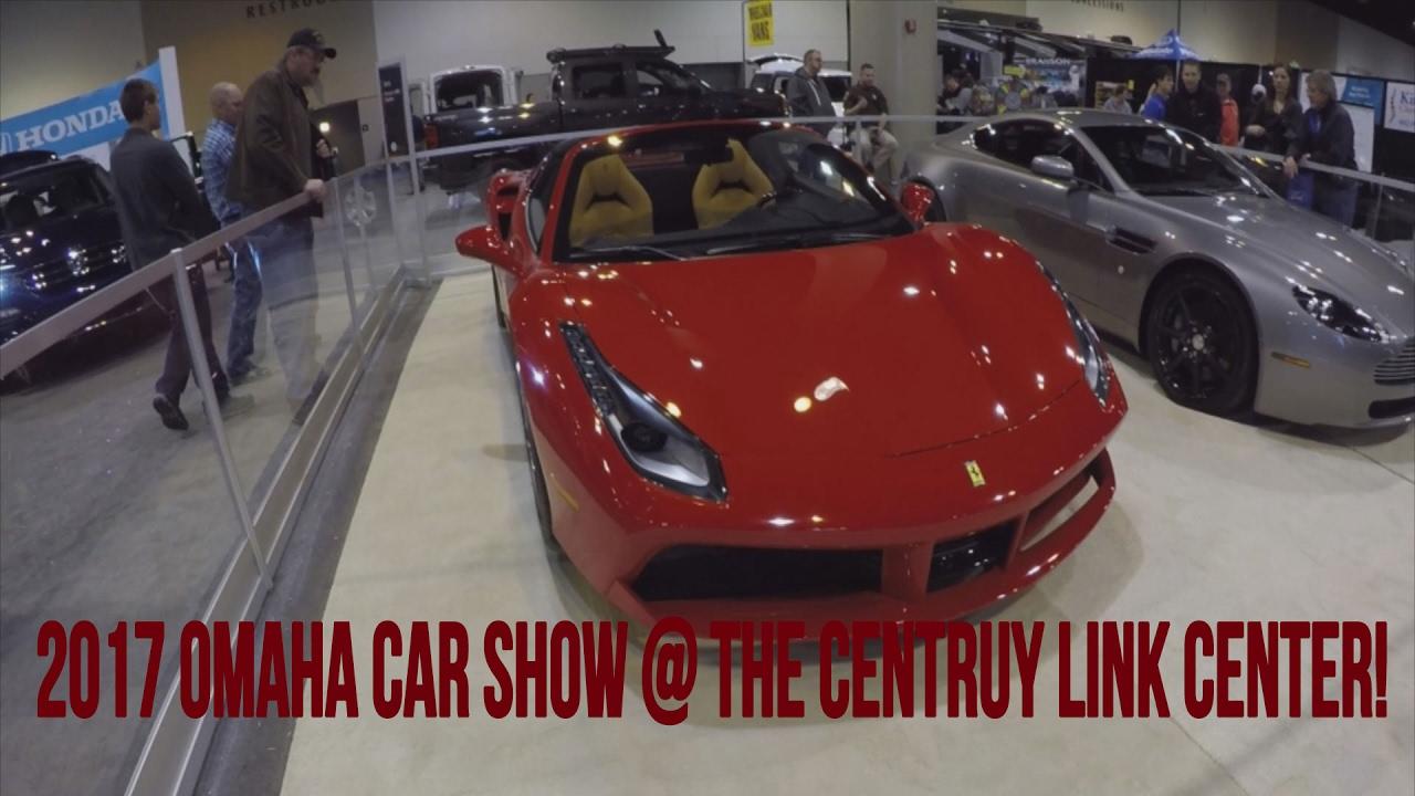 Omaha Car Show Edit Centruy Link Center YouTube - Omaha car show