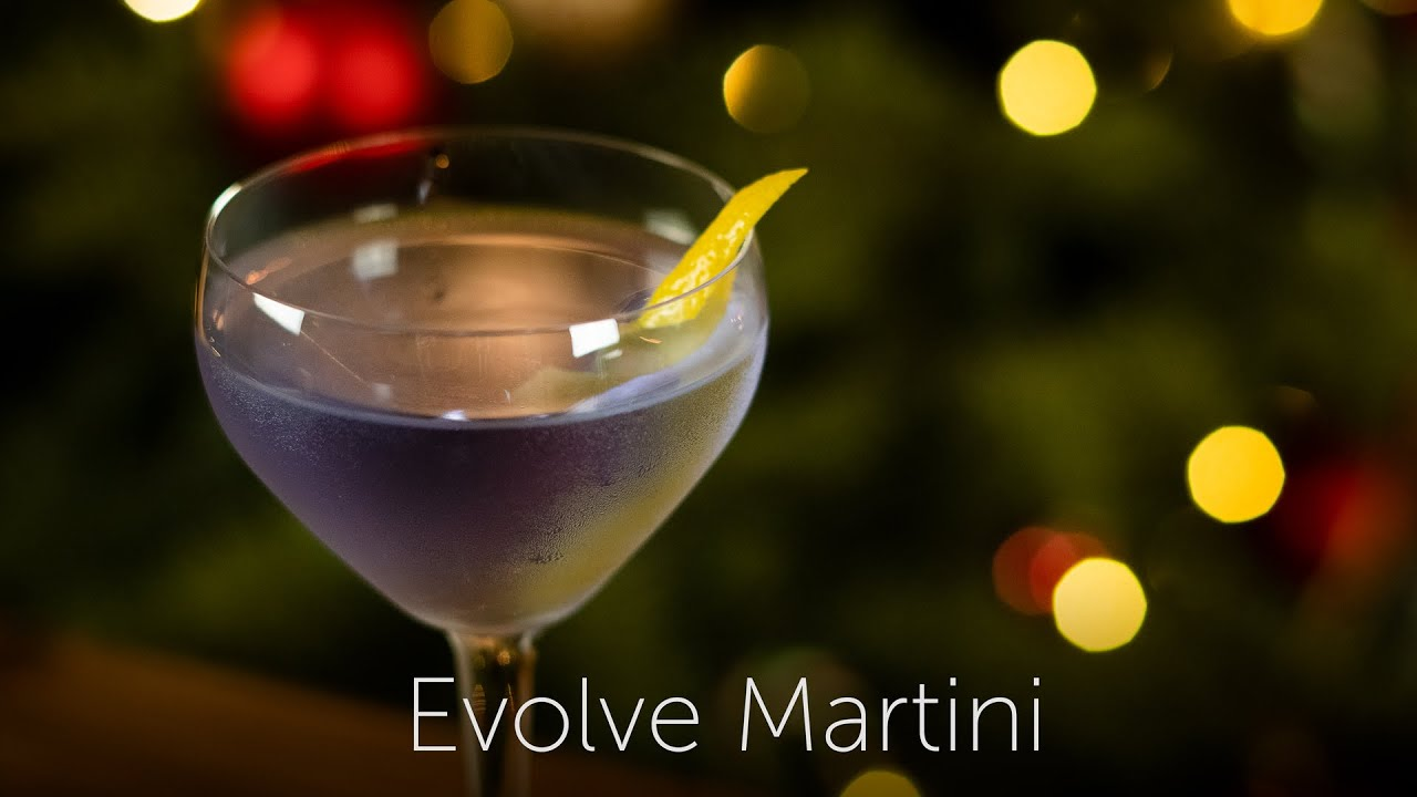 Evolve Martini | 12 Days of Cocktails - Day 08