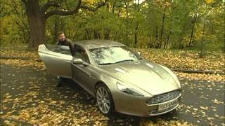 Aston Martin Virage фото видео