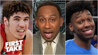 The Warriors don't need LaMelo! - Stephen A. predicts Golden State picks James Wiseman | First Take