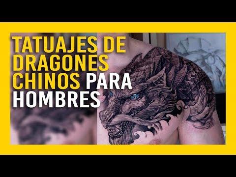 Tatuajes De Dragones Chinos Para Hombres Macho Alfa Youtube