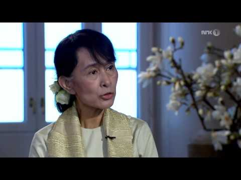 Aung San Suu Kyi   Interview for Norwegian Television, June 16,  2012