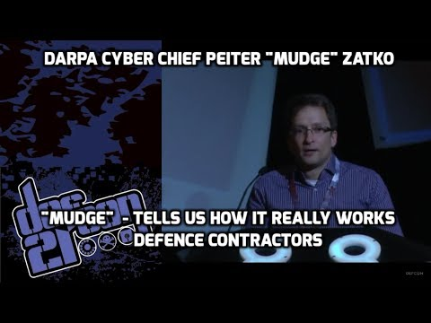 DEF CON 21 - Mudge - Game Theory, Defence Contractors & Thea