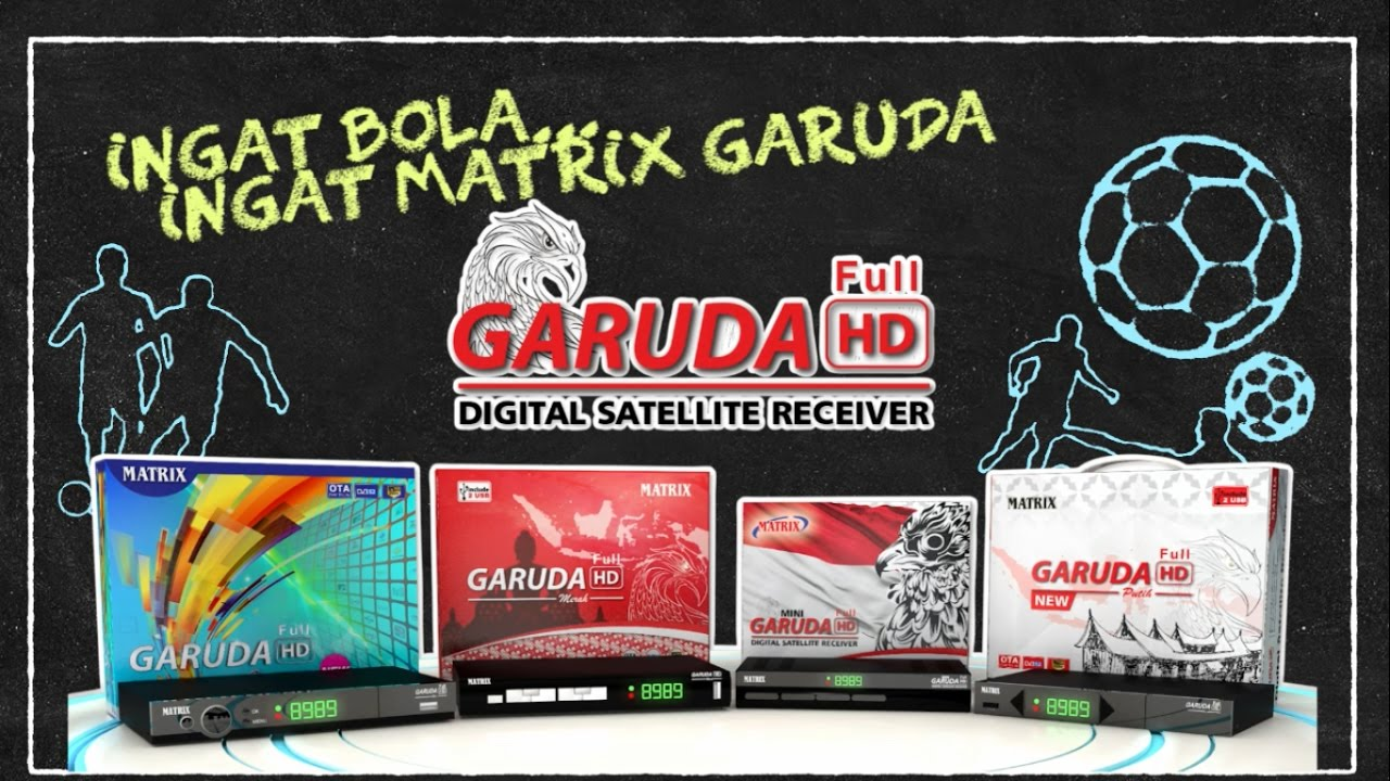 Receiver Matrix Garuda Gila Bola Youtube Soccer