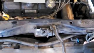 Radiator replacement 2005 Chrysler Town and Country 3.3L 3.8L Dodge Caravan Install Remove Replace