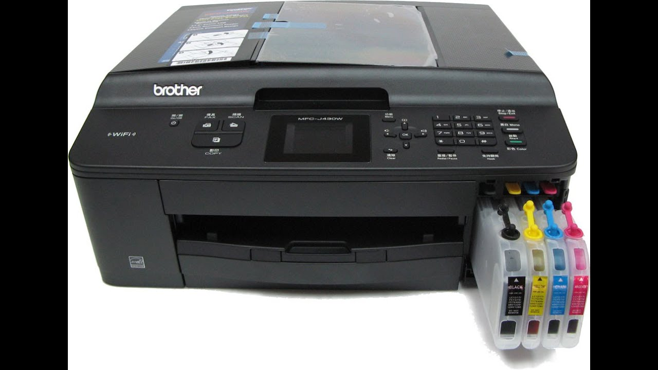 DRIVER: BROTHER PRINTERS MFC J430W