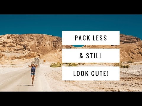 Packing Tips for 10 Days in Israel - Carry on Only!