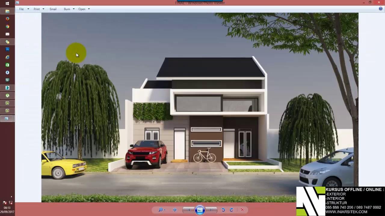 Tutorial render rendering exterior 3ds max vray youtube - Exterior rendering in 3ds max with vray ...