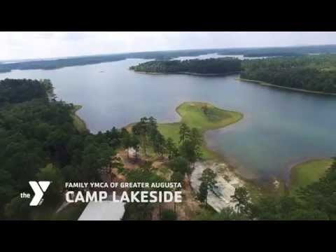 FAMILY YMCA OF GREATER AUGUSTA CAMP LAKESIDE DRONE DEMO