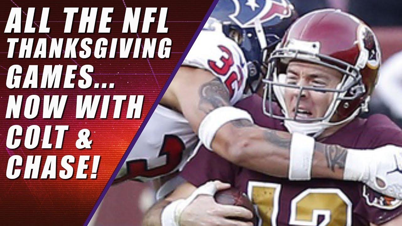 Bears vs Lions, Redskins vs Cowboys, Falcons vs Saints: NFL Thanksgiving