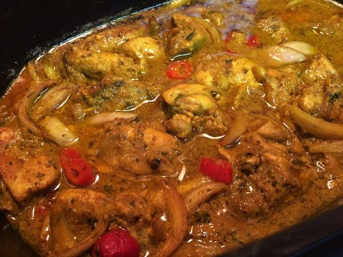 SHAIL'S KITCHEN SLOW COOKER CURRY CHICKEN