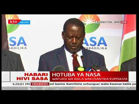 Raila Odinga's claims against President Uhuru