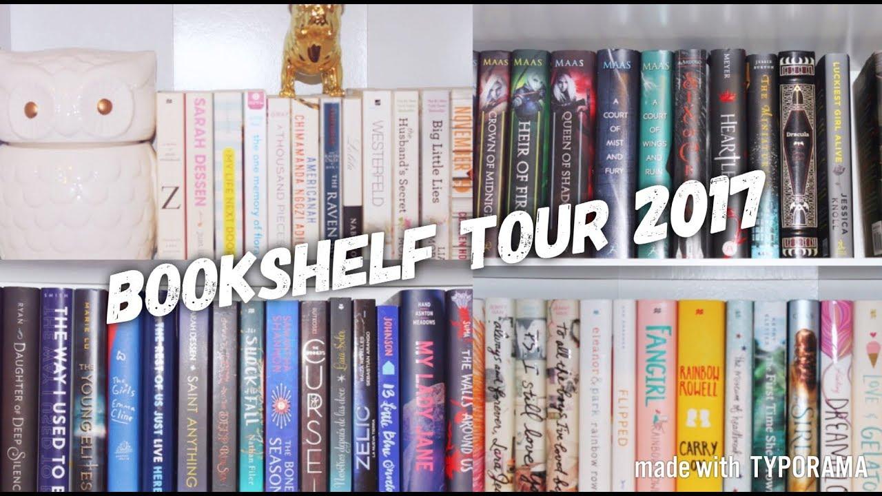 NEW BOOKSHELF TOUR 2017