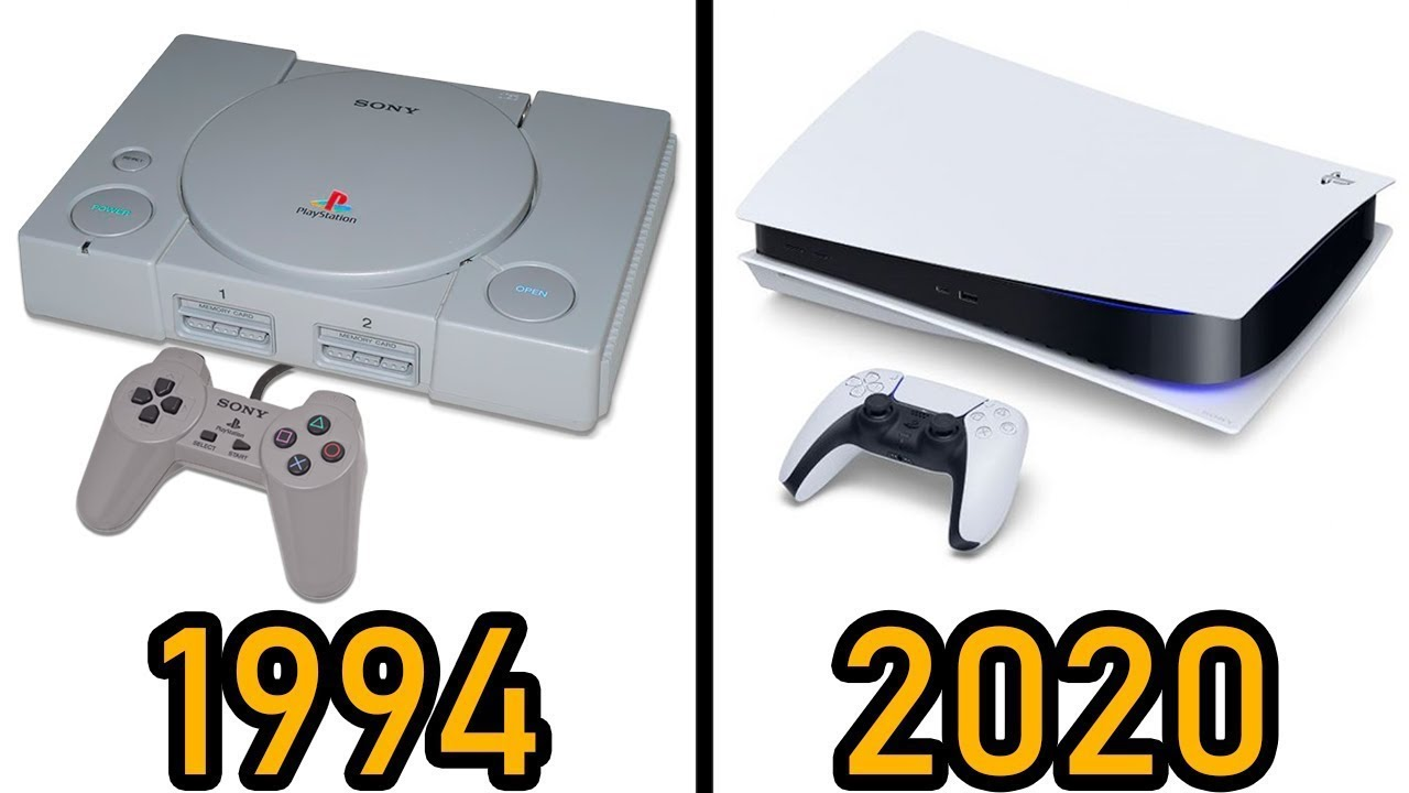 PlayStation Evrimi 1994 - 2020 #PS5
