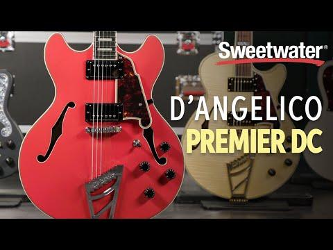 D'Angelico Premier DC Semi-hollowbody Electric Guitar Playthrough