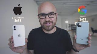 iPhone 12 Mini vs Pixel 5 - What's the best $699 phone?
