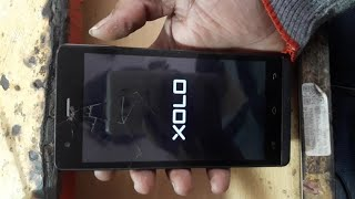 Xolo a1010 Dead ripair And hang Logo xolo