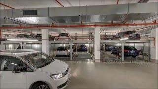 מתקן חניה לרכב של חברת פרומוט מבית Wöhr