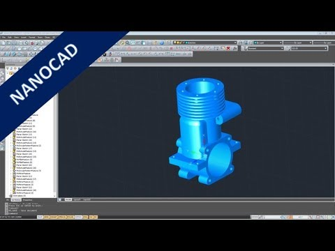Kurbelgehaeuse – Crankcase – Nanocad Pro Training – Part Design