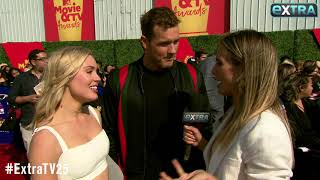 'Bachelor' Date Night! Cassie Randolph Calls Out Colton Underwood's Yoga Skills