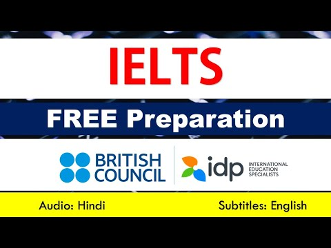 Free IELTS Preparation From British Council And IDP Education (English Subtitles)