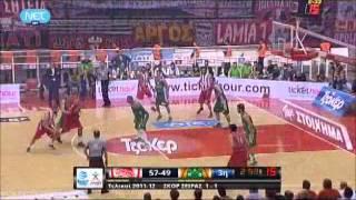 olympiakos vs pao 84-72 2012 3rd final