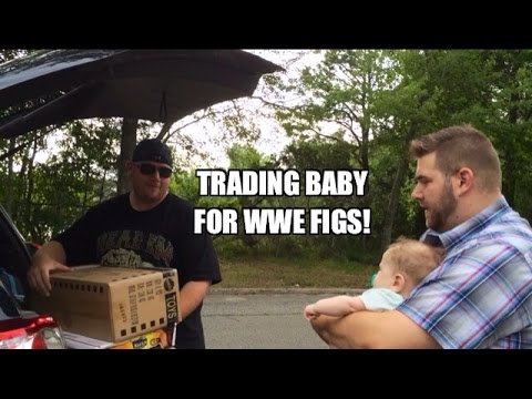 Grims Toy Show ep 904: Baby Battle! WWE...