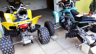 Power Bomb ATV !! Observations adventures #9 - Przygody podczas jazdy quadem