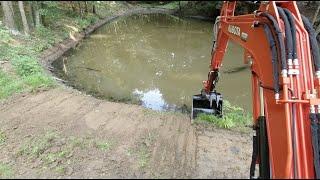 Pond Work, Bringing her Back from the Brink