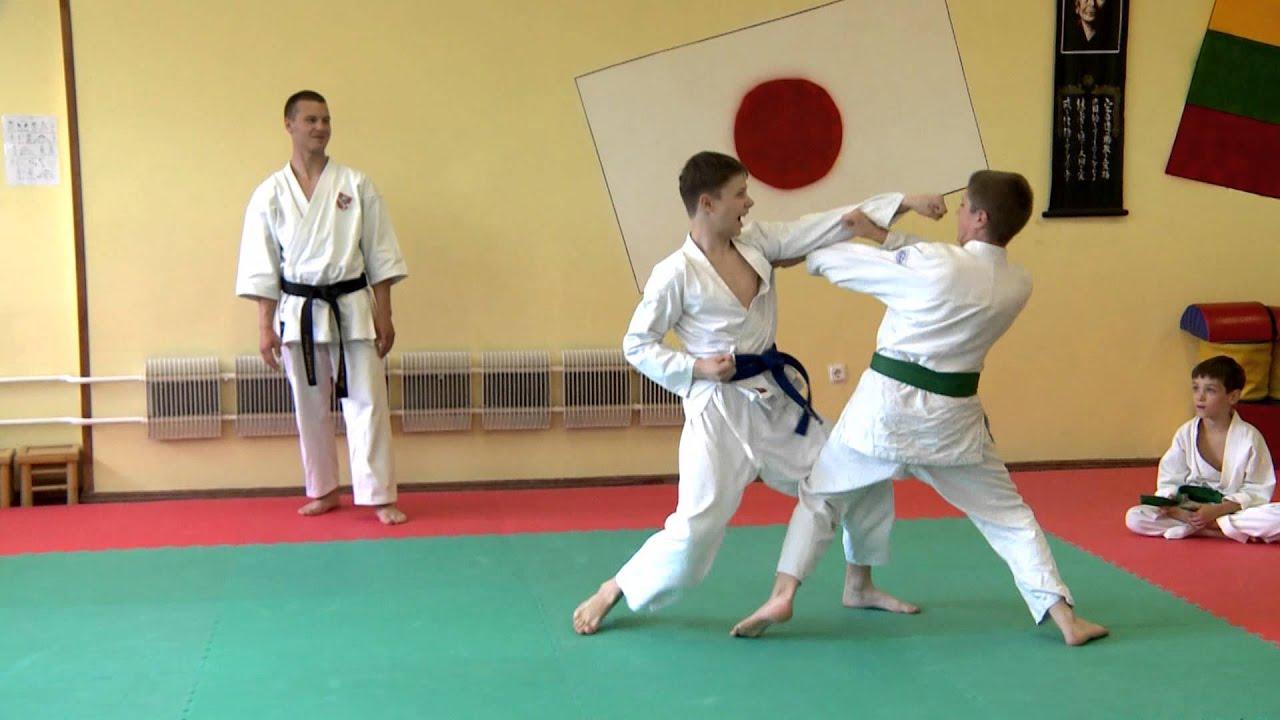 Karate klubas SEISHIN kviečia sportuoti!