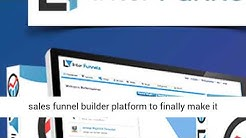 Inter Funnels Review, Bonus - High Conversion Sales Funnel Software - InterFunnels