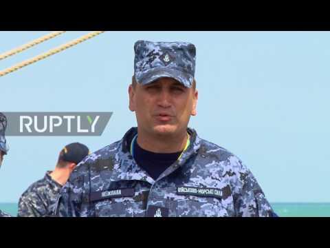 Ukraine: Navy joins